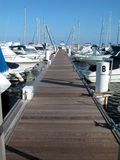 Sailboat marina Royalty Free Stock Images