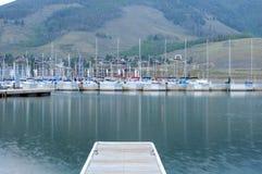 Sailboat marina Stock Images