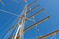 Sailboat mast Stock Photography