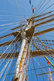 Sailboat mast Stock Photos