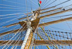 Sailboat mast Stock Photography