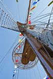 Sailboat mast Royalty Free Stock Photo