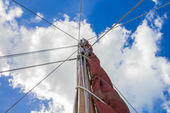 Sailboat Mast 1 Stock Photography
