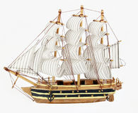 Sailboat model Stock Photos