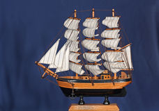 Sailboat Model Stock Photo