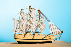 The sailboat model Stock Photo