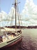 Sailboat near Stockholm, Sweden Stock Photography
