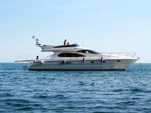 Sailboat no oceano Fotografia de Stock