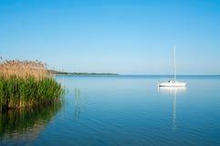 Sailboat On Lake Balaton Stock Photos