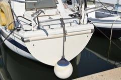 Sailboat at Port stock image
