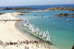 Sailboat race Stock Photos