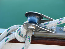 Sailboat Rigging Royalty Free Stock Photo