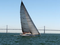 Sailboat at Rolex Cup San Francisco 2015 Stock Photo