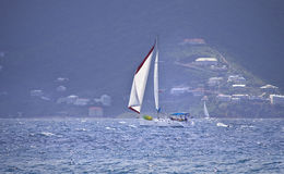 Sailboat sailing Royalty Free Stock Image