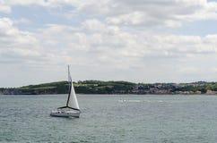 Sailboat sailing Stock Images