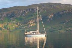 Sailboat sailing Royalty Free Stock Photos
