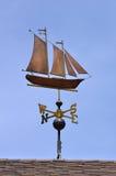 sailboat schooner vane καιρός Στοκ εικόνες με δικαίωμα ελεύθερης χρήσης