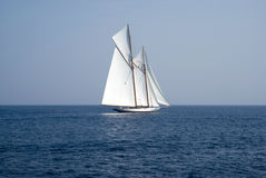 Sailboat on sea Royalty Free Stock Image