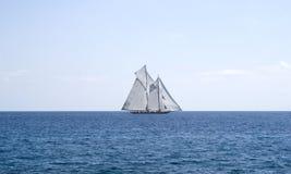 Sailboat on sea Royalty Free Stock Photography