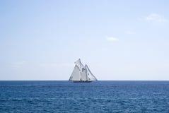 Sailboat on sea Stock Photography