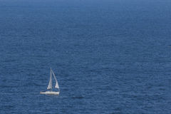 Sailboat at the sea Royalty Free Stock Photography