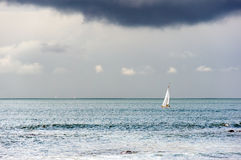 Sailboat on sea Stock Photography