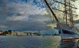 Sailboat Sedov Stock Images