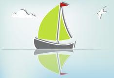 Sailboat serene_Ib Stock Images