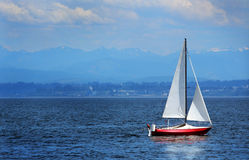 Sailboat Sitting Stock Photography