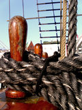 Sailboat slips III Stock Photos