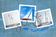 Sailboat Snapshots Royalty Free Stock Photo