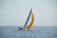 Sailboat in south of France Royalty Free Stock Photography