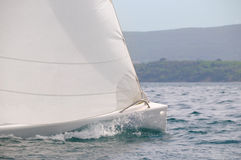 Sailboat speed Royalty Free Stock Photos