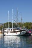 Sailboat in Split Stock Photography