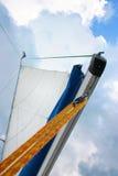Sailboat in the Sun Stock Photos