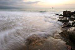 Sailboat  Sunset Stock Photos