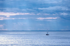 Sailboat in sweden royalty free stock images