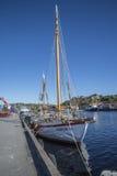 The sailboat taifun Royalty Free Stock Image