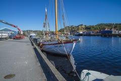 The sailboat taifun Royalty Free Stock Photo