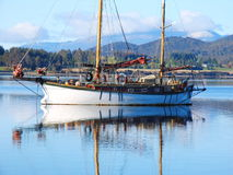 Sailboat (Te Anau) Stock Photo