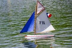 Sailboat in thumbnail Stock Photo