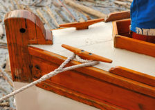 Sailboat Tie Down Stock Photography