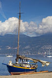 Sailboat, Vancouver Harbour/Harbor Stock Photos