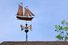 sailboat vane καιρός Στοκ Φωτογραφίες