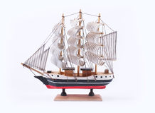 A sailboat vintage model Stock Photography