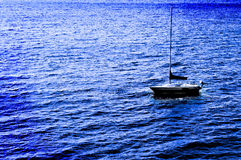 Sailboat on Water Stock Photography
