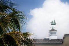 Sailboat Weather Vane Royalty Free Stock Photo