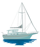 Sailboat yacht Royalty Free Stock Photo