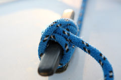 Sailboater's equipment on yacht Stock Image