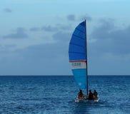 Sailboating In Cuba Royalty Free Stock Photos